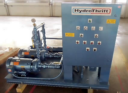 HydroThrift duplex pump base water cooling system