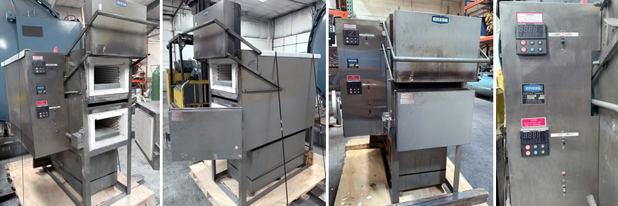 Cress Manufacturing Over/Under Furnace